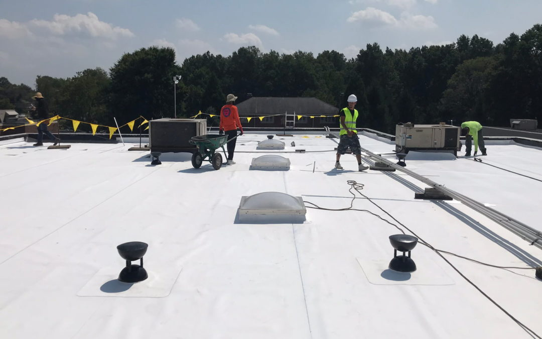 Case Study: V2T Makes the Grade on Large Private School Re-Roof